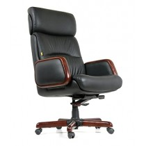Чаирман 417 кожаное кресло Chairman 417