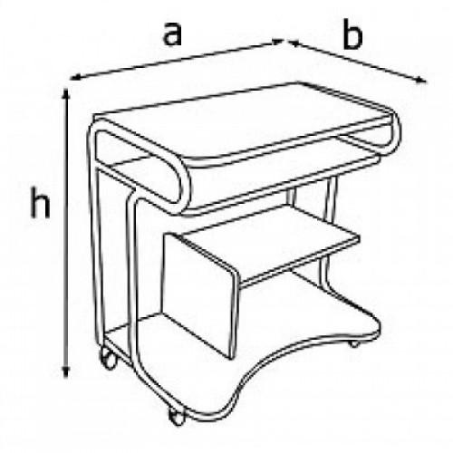 Стол компьютерный BKR