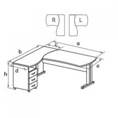 Комплект мебели угловой DB