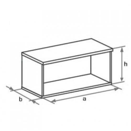 Антресоль для шкафа DH1-021