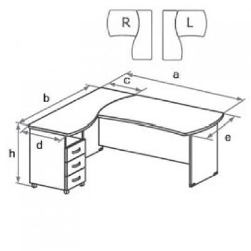 Комплект мебели угловой DR