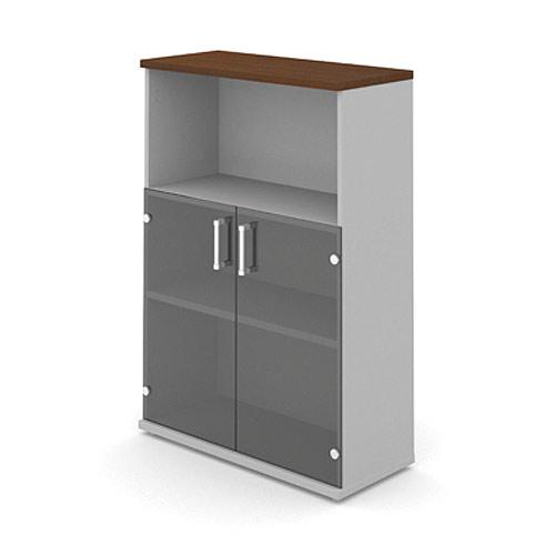 Шкаф (стеклянные двери) 3-го уровня MM3-025