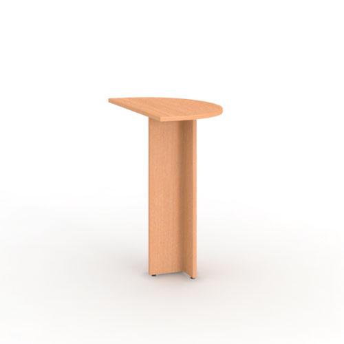 Приставка к столу полукруглая торцевая  PE01