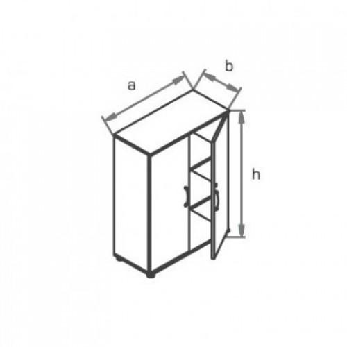 Шкаф (глухие двери) R3S03