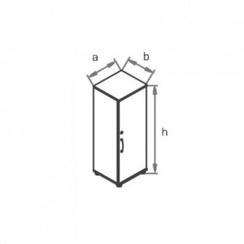 Шкаф (глухая дверь ) R3W03