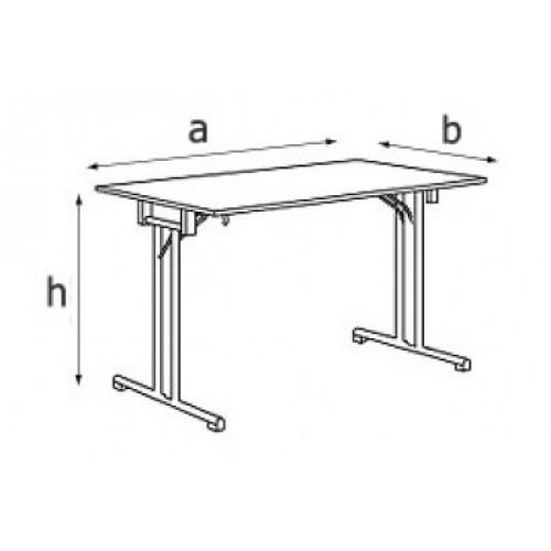 FT Silver стол складной