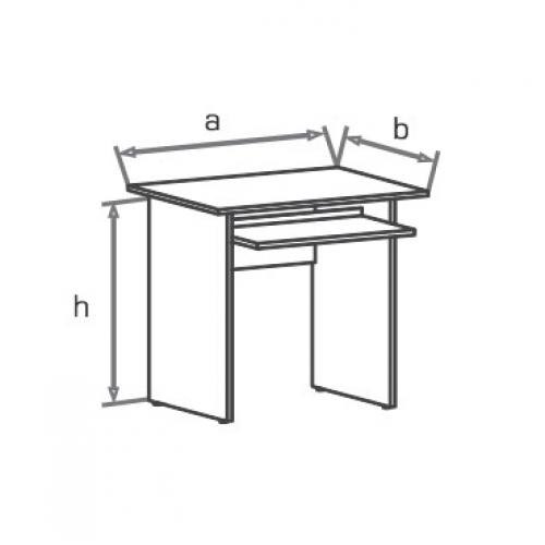 Стол компьютерный SD080