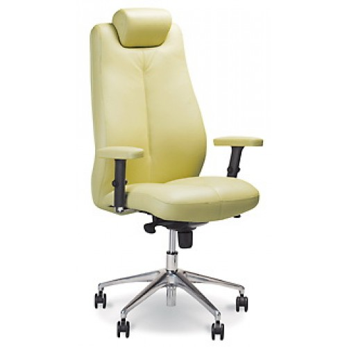 Соната кресло руководителя SONATA steel chrome