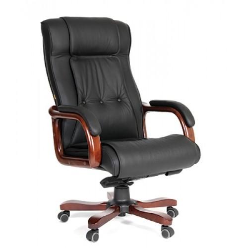 Чаирман 653 кресло кожа COW Chairman 653