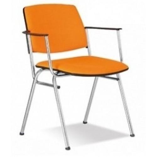 Изит arm хром стул для посетителей Isit arm chrome