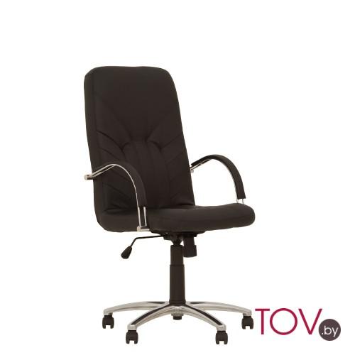 Nowy Styl Manager Steel Chrome кресло для руководителя Менеджер Стил Хром