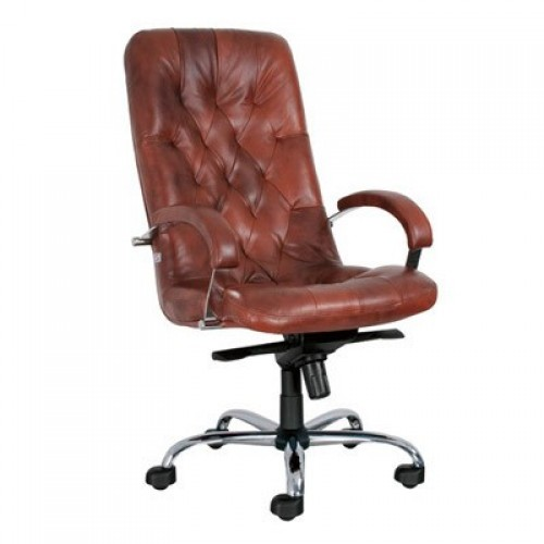 Премьер стил хром кресло руководителя Premier Steel Chrome