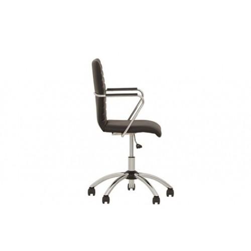Таск  хром кресло для персонала Task GTP chrome