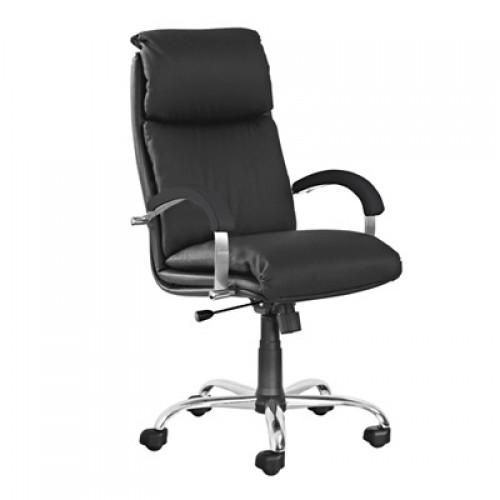 Надир стил хром кресло руководителя Nadir steel chrome