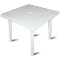 Стол квадратный 80х80см пластиковый
