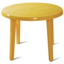 Стол круглый d.90 см пластиковый