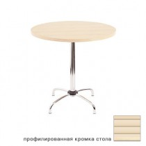 BT-1 Chrome стол круглый