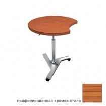 CT Silver стол круглый для ноутбука