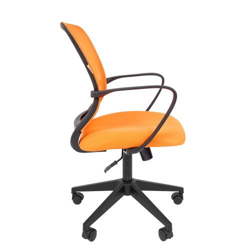 Chairman 698 black кресло офисное Чаирман 698 черный