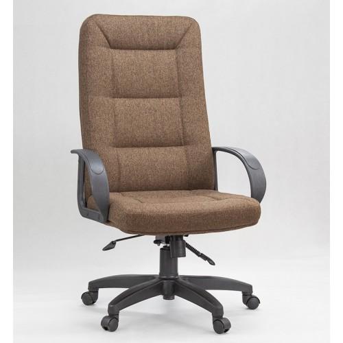 """Кресло """"Идра Пластик"""" из ткани """"Мальта 15"""" коричневого цвета"""
