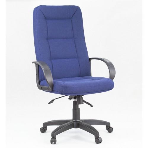 "Кресло офисное ""Идра пластик"" из ткани ""Калгари"" синего цвета"