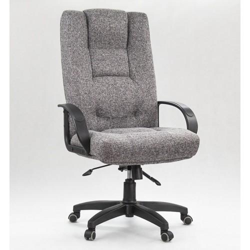 """Кресло """"Лагуна пластик"""" из ткани """"Мальта 16"""" серого цвета"""