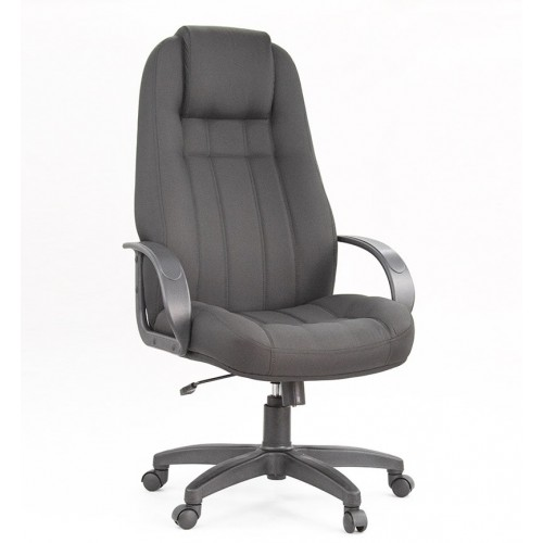 "Кресло ""Леванте пластик"" из ткани ""Бит 14"" серого цвета"