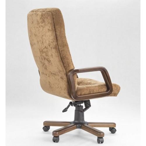 """Кресло """"Министр Экстра"""" из ткани """"Пирл 006"""" коричневого цвета"""