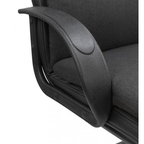 """Кресло для посетителей """"Надир пластик"""" из ткани """"Плейн 14"""""""