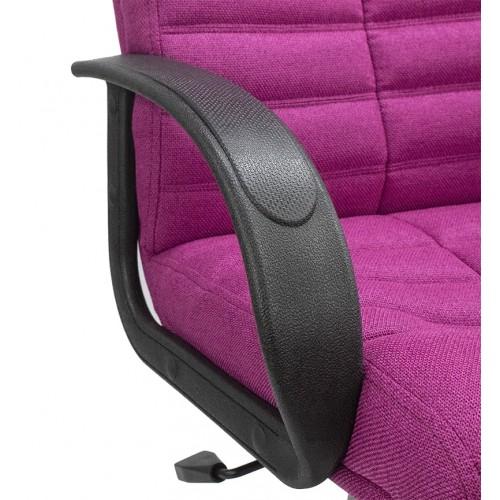 "Кресло ""Орион мини Пластик"" из ткани ""Форвард Пинк"" розового цвета"